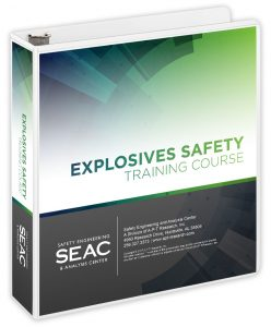 Explosives Safety Training Book